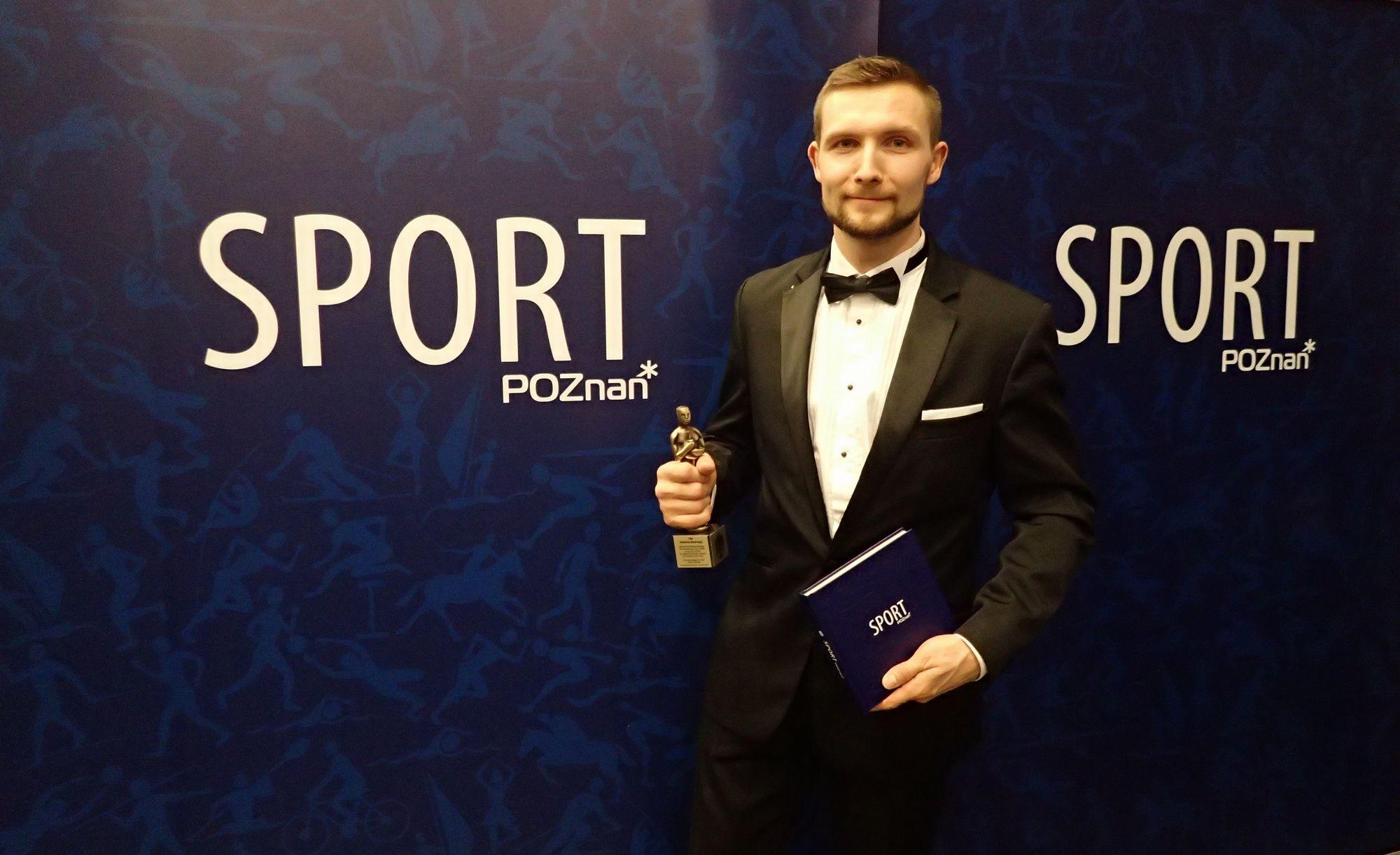 Poznańska Gala Sportu 2016 - WSSW - Robert Budny Wiecmistrz Świata Krav Maga - 13.01.2015 Poznań (9)